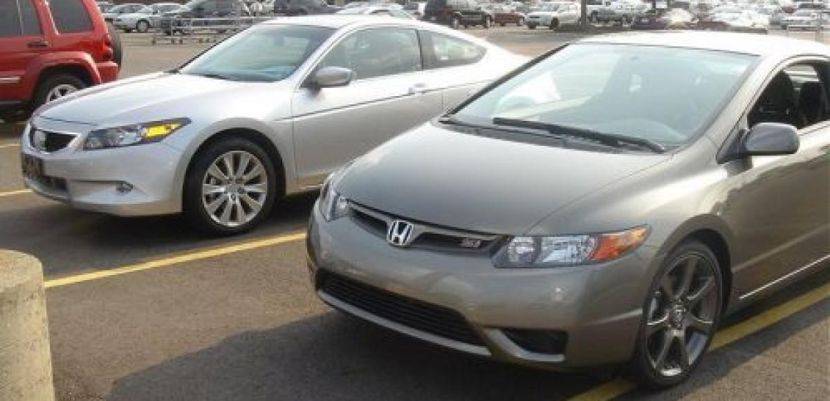 2008 Honda Accord сoupe. Шпионские фото