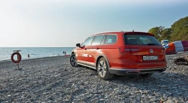 Путешествие Москва — Лазаревское на Volkswagen Passat Alltrack