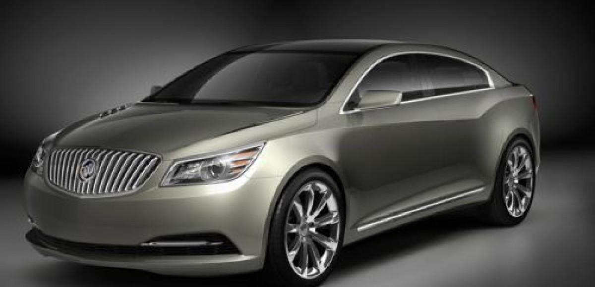 Buick возрождает Invicta