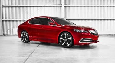 Премиум-седан Acura TLX появится на российском рынке