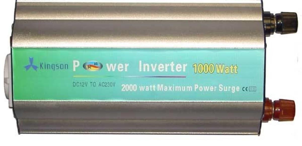 Инвертор 12-220 В. Необходим в дальних поездках