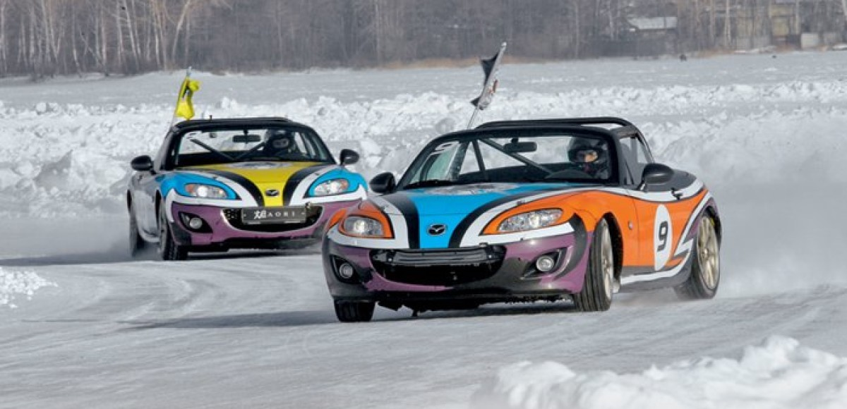MX-5 Ice Race. Укротить ветер