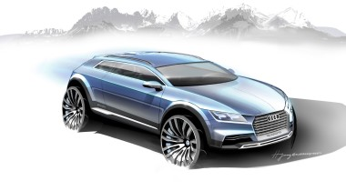 Audi покажет новый шоу-кар в Детройте