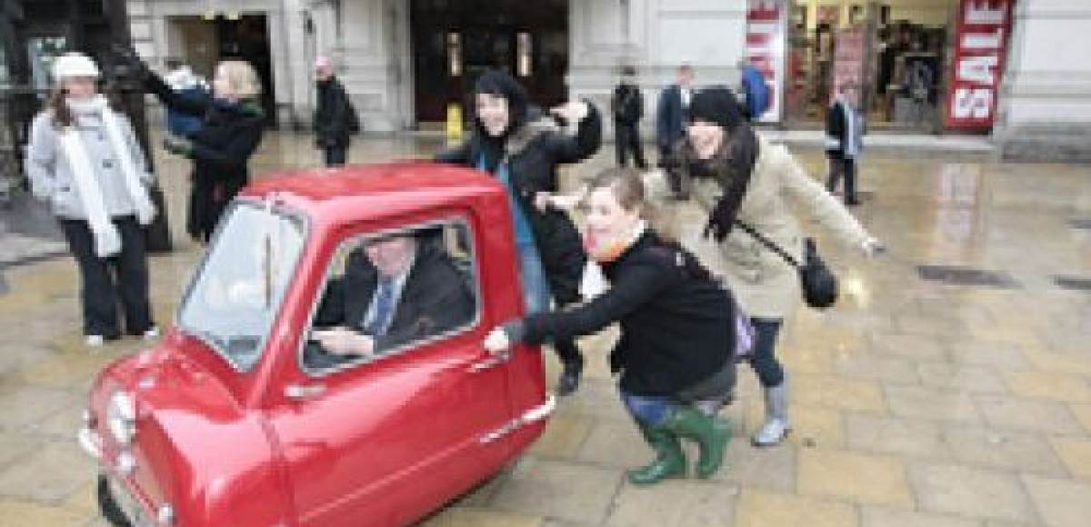 Лондонский музей демонстрирует автомобиль-карлик
