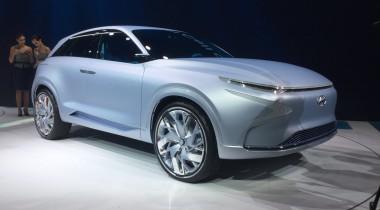 Hyundai FE Fuel Cell Concept: водородная «бомба»