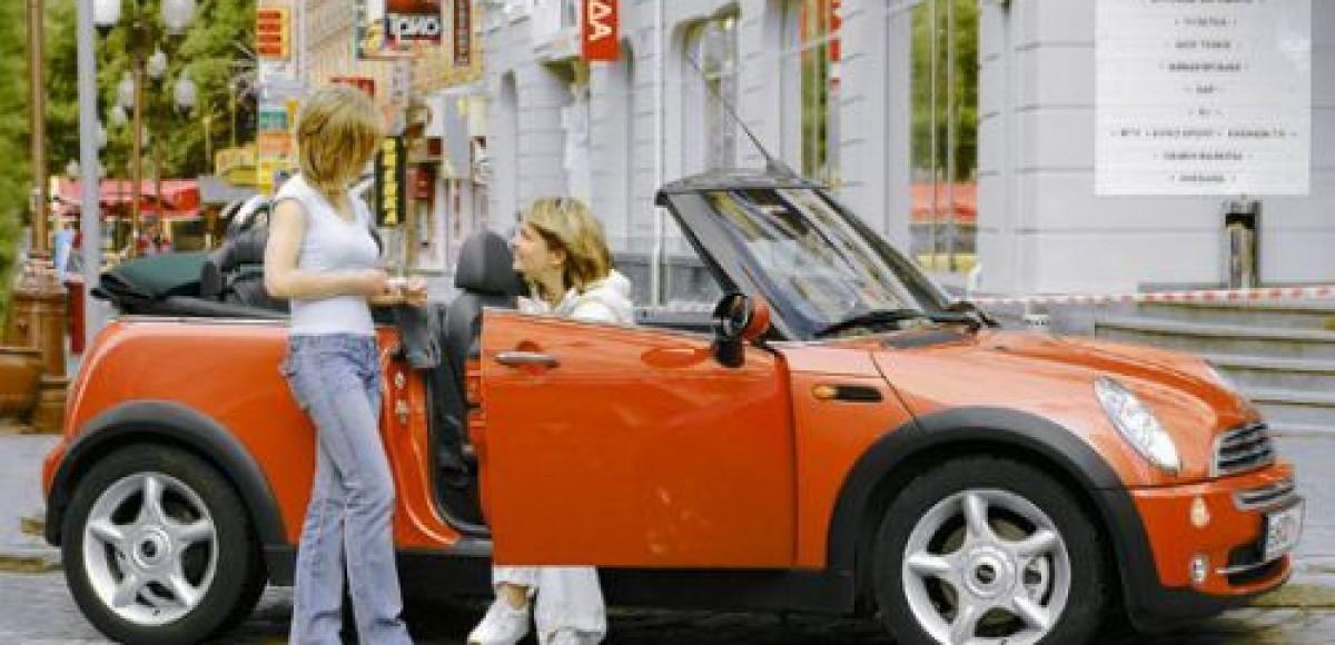 Mini Cooper Cabrio. Пусть всегда будет солнце