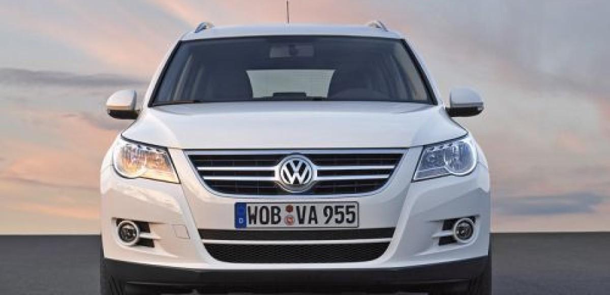 Volkswagen Touareg и Volkswagen Tiguan 2009 стали привлекательнее на 8%