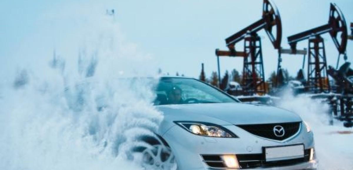 Тест Mazda6 в Сибири. В холода, в холода