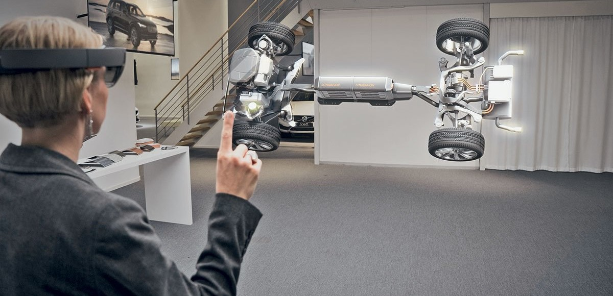 Изменяющие реальность: кибер-очки Volvo