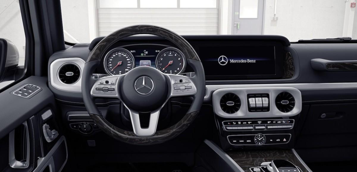 Каким будет Гелендваген: в Mercedes-Benz показали салон обновленного внедорожника