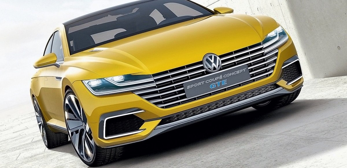 VW Sport Coupe GTE, Touran и Passat Alltrack. Будущее и настоящее