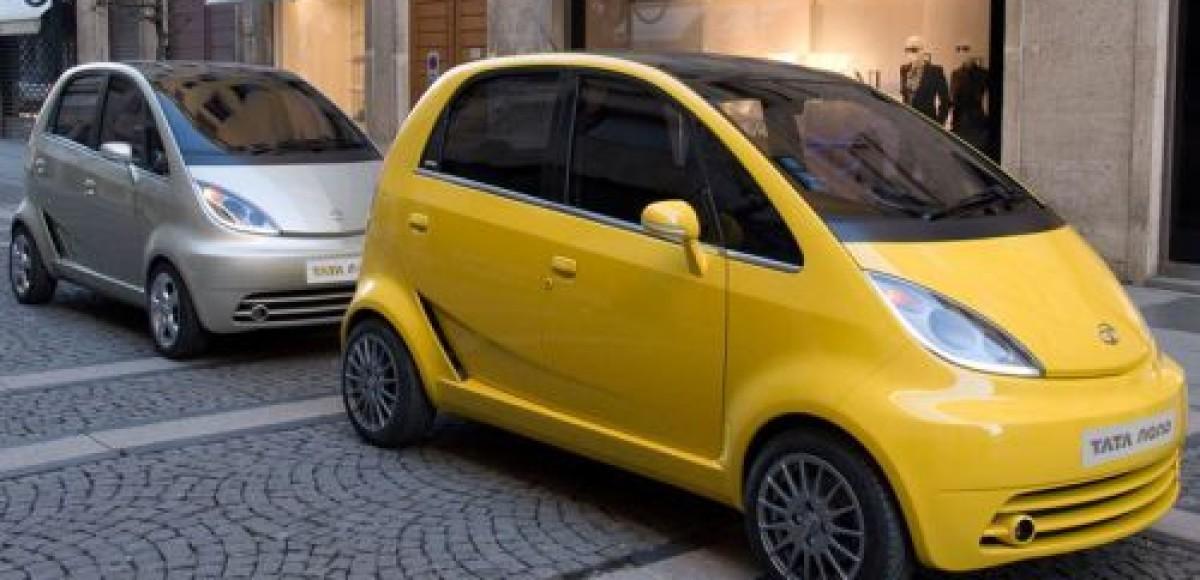 Tata Motors привезла в Женеву Nano Europa