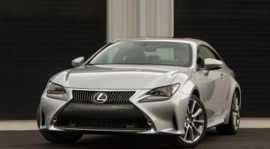 Объявлены цены на  купе Lexus RC 350