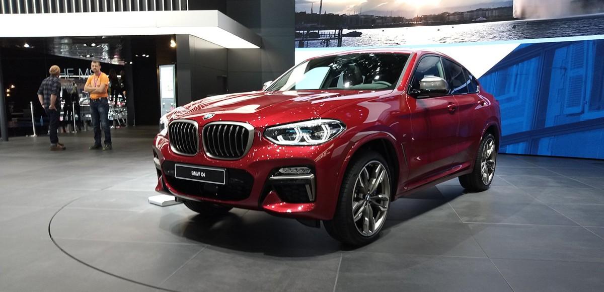 BMW X4: это почти X6, только дешевле