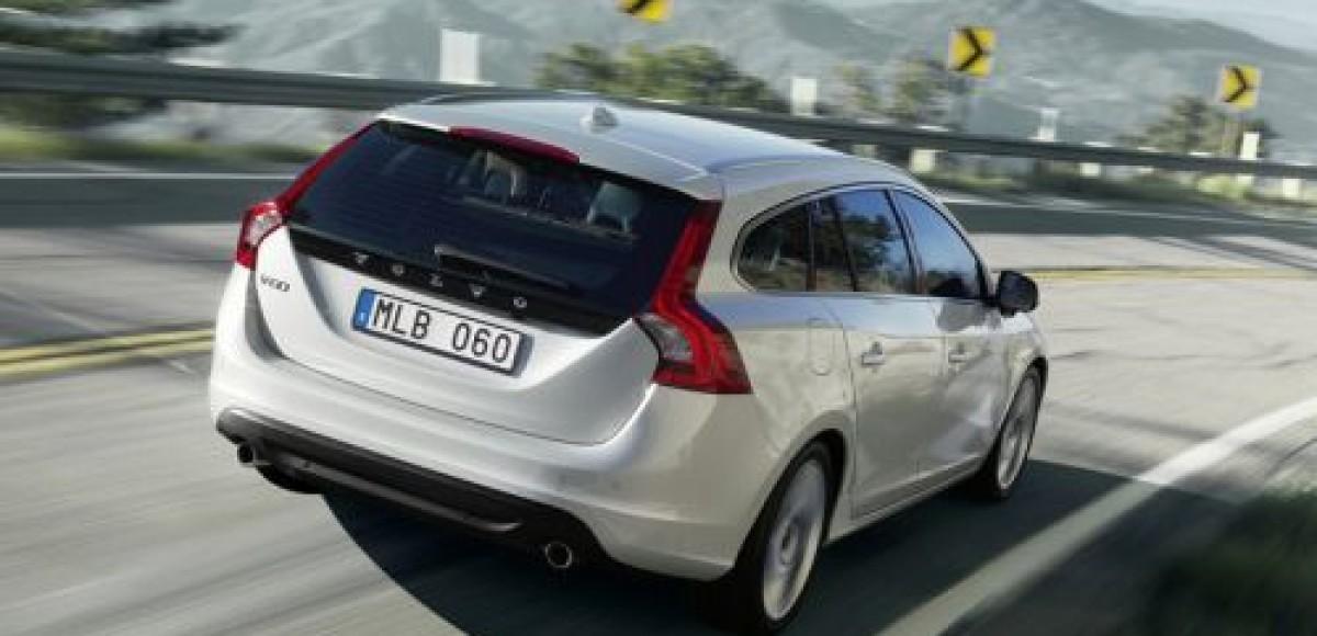 Volvo представляет официальные фото универсала V60