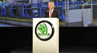 Skoda отмечает 20-ую годовщину работы с Volkswagen