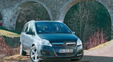 Opel Zafira — лидер российских продаж в сегменте компакт-вэнов