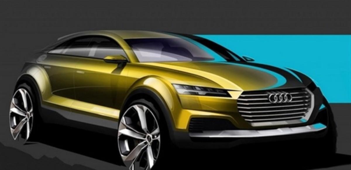 Audi показала тизер нового Q4