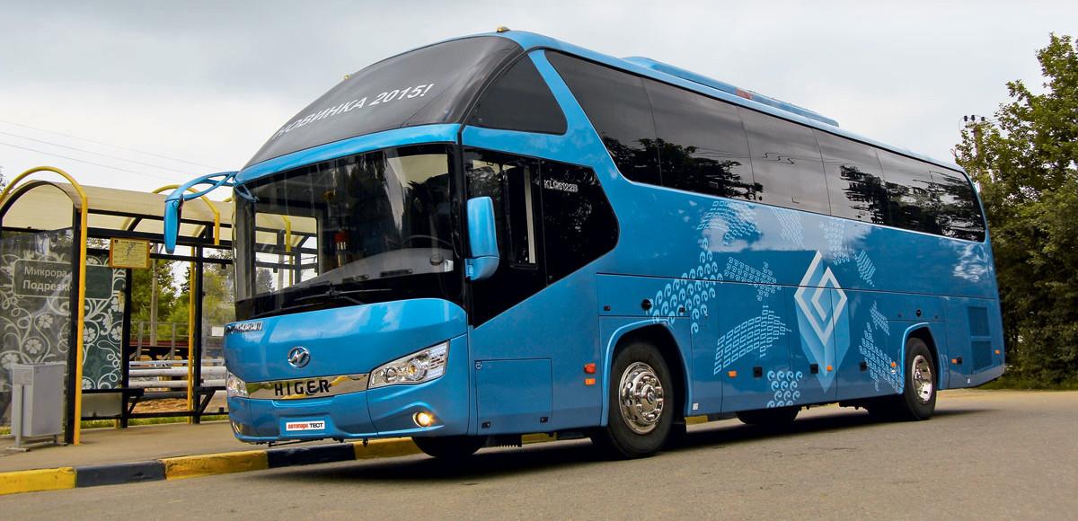 Новая высота: туристический автобус Higer
