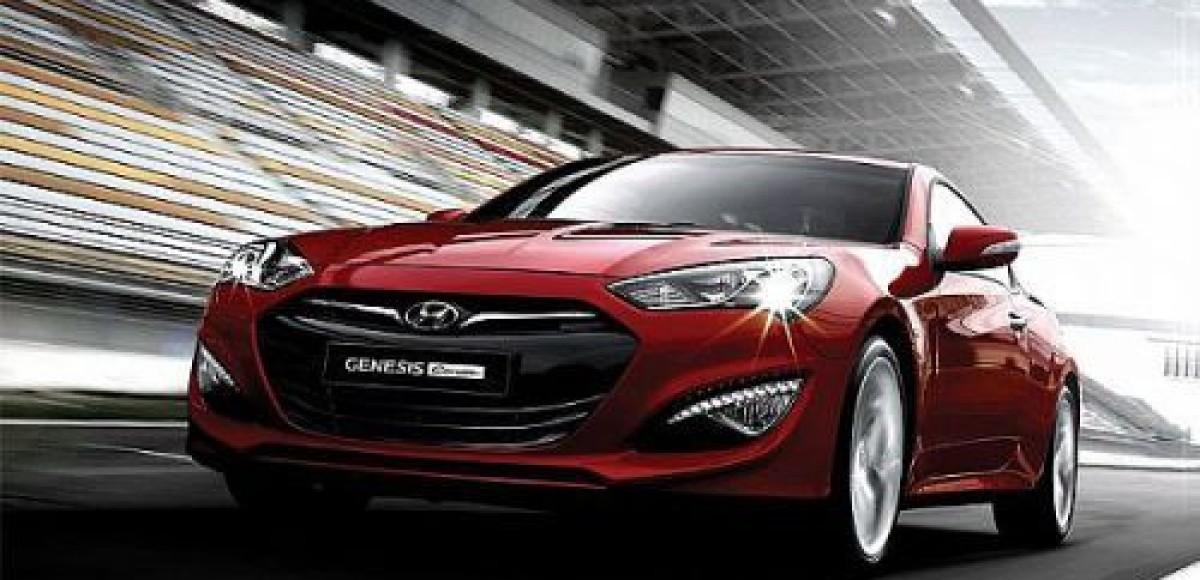 Компания Hyundai показала обновленный Genesis Coupe