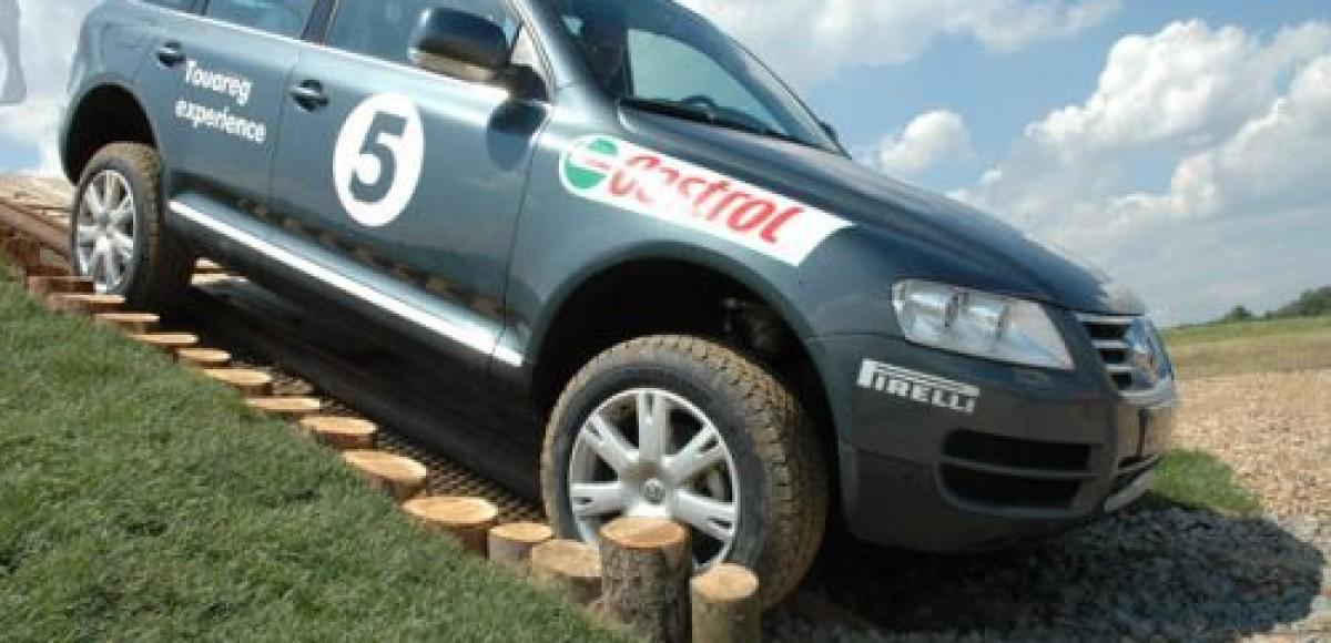 Volkswagen Off-Road Experience идет по России