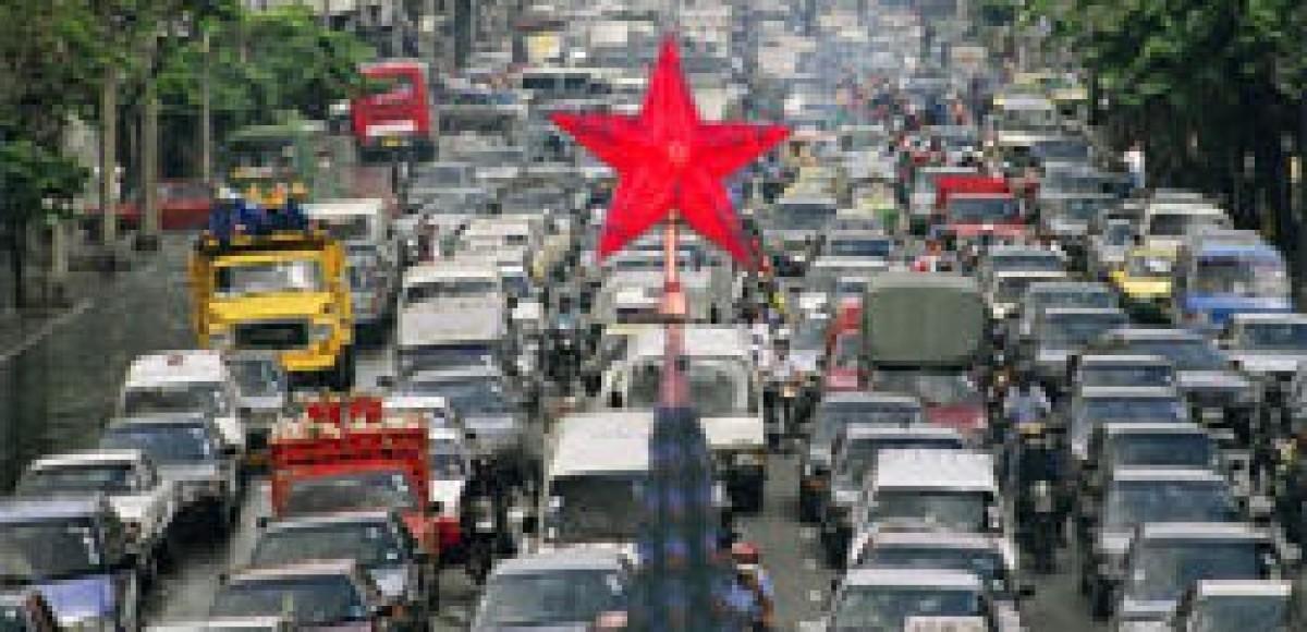 В связи с репетицией парада Победы движение в Москве будет ограничено