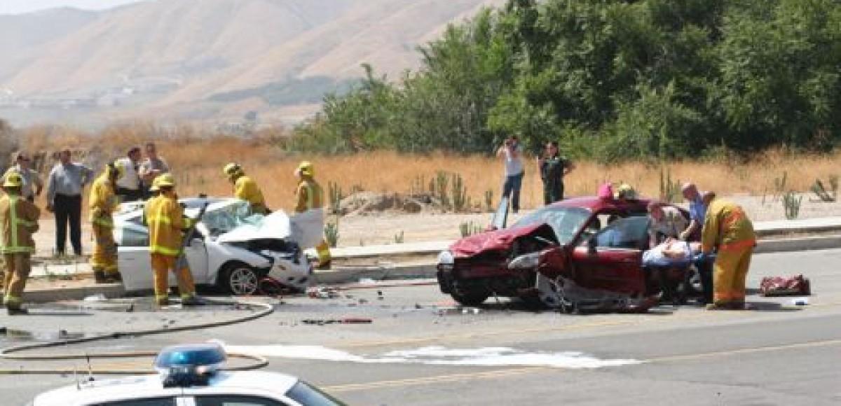 Четыре машины столкнулись в Бутово