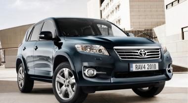 Старый знакомый: Toyota Rav4