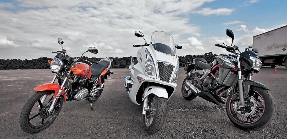 Мотоциклы CFMOTO. Три китайских друга
