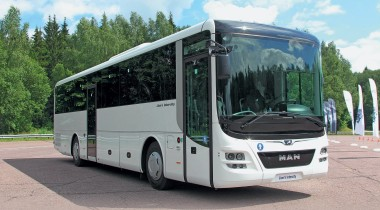 «Умный» автобус МАЗ, который возит пассажиров в Питере: рассказываем, в чем его особенности