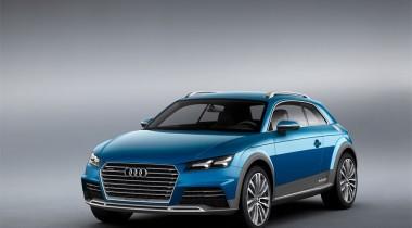 Обман зрения. Audi Allroad Shooting Brake