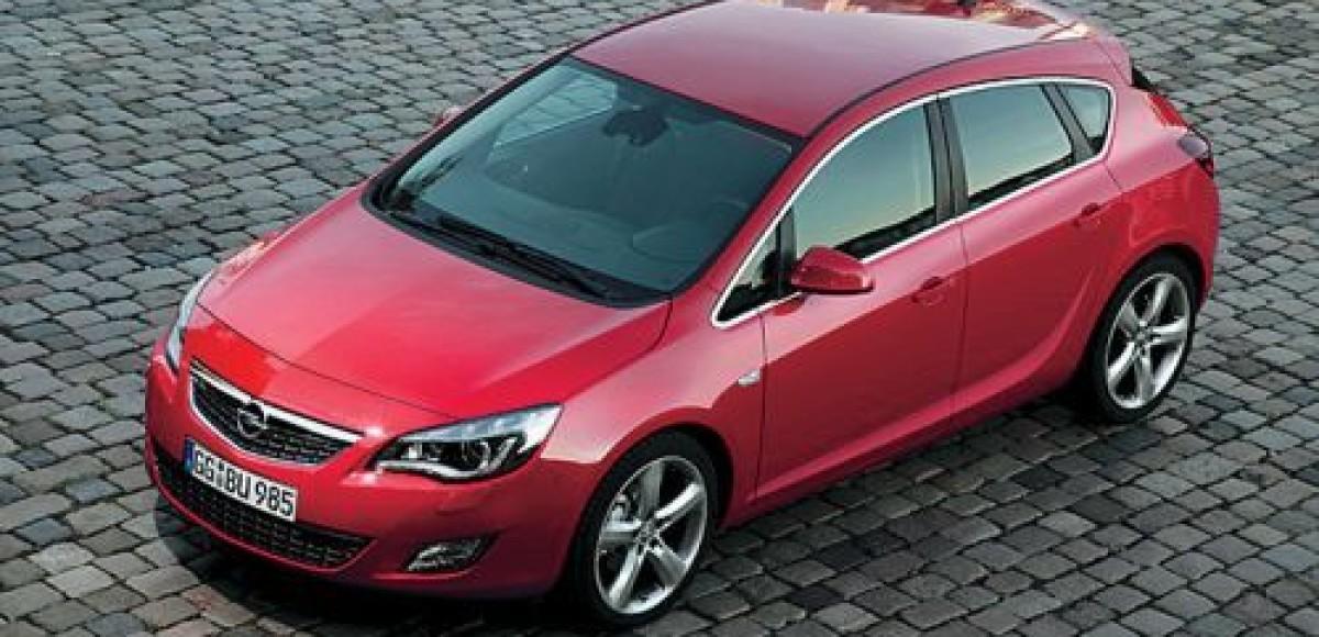 Новая Opel Astra. Европейский бестселлер