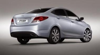 На Московском автосалоне представили семейный седан Hyundai RB