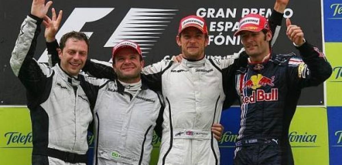 Дженсон Баттон — победитель Гран-При Испании!