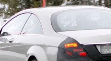 Купе Mercedes-Benz S-class. Шпионские фото