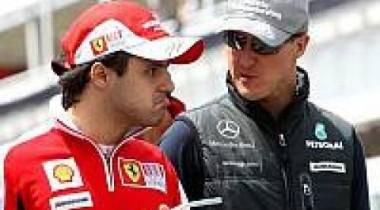 Никакого упрека от Ferrari в сторону Шумахера