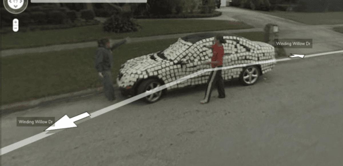 Самые необычные снимки Google Street View