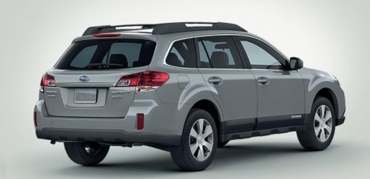 Subaru Outback. На том же месте