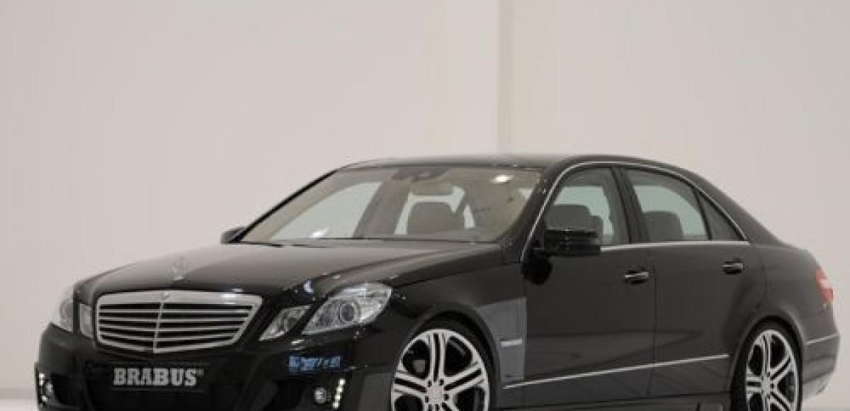 Brabus предлагает программу тюнинга для Mercedes-Benz E-class (W212)