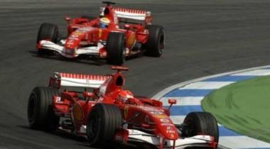 Пилотов Ferrari  в Германии устроит только дубль !