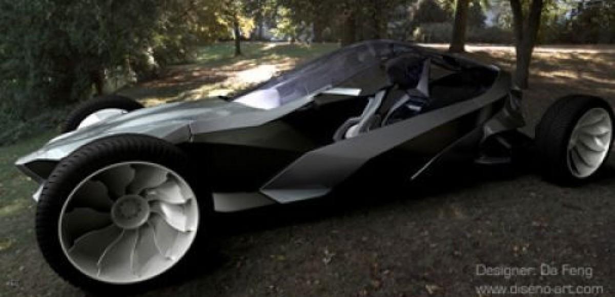 Британский студент создал гибрид автомобиля и тренажёра