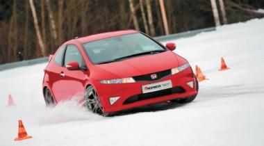 Mazda3 MPS vs Honda Civic Type-R vs Skoda Octavia RS. Пытка холодом