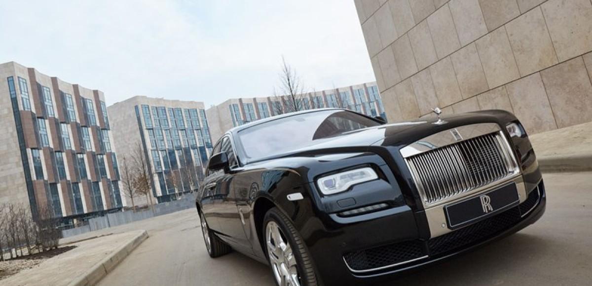 Rolls-Royce Ghost Series II теперь и в России