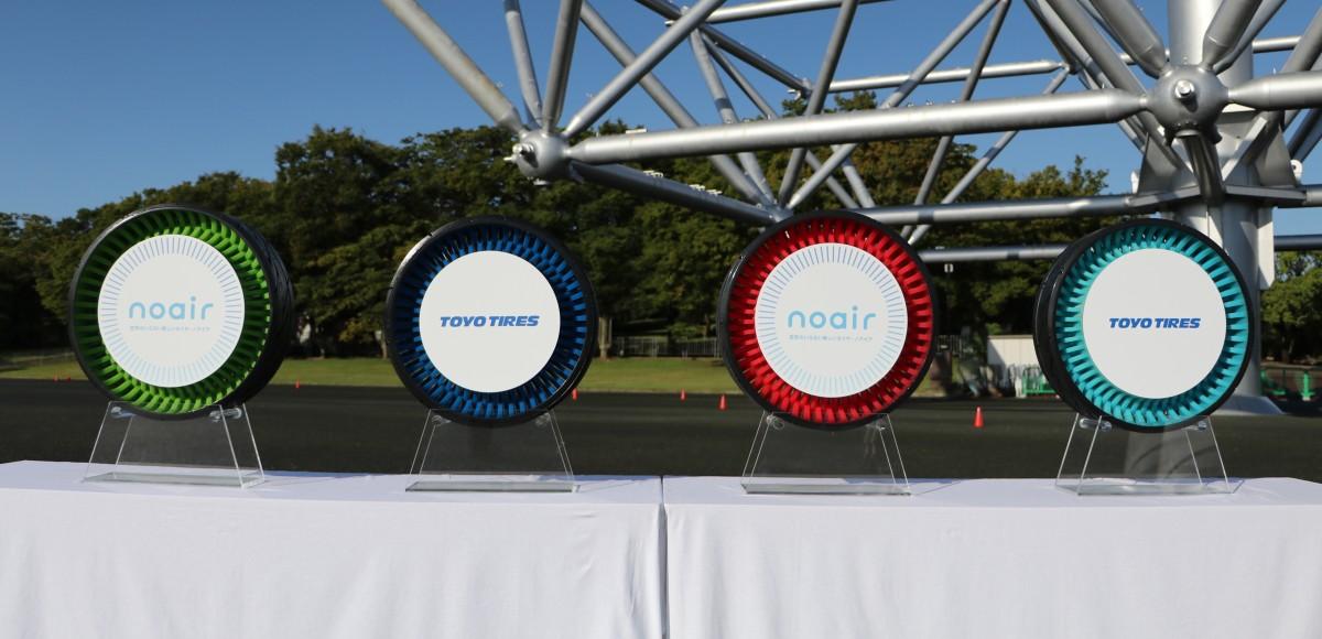 Noair: шина без воздуха