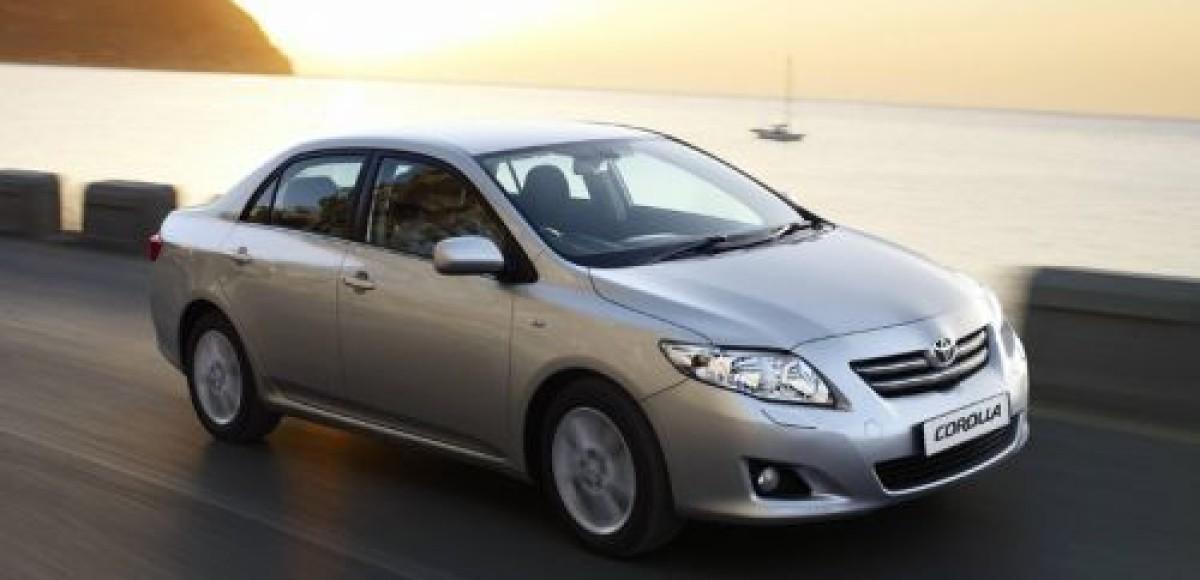 В России начались продажи обновленной Toyota Corolla