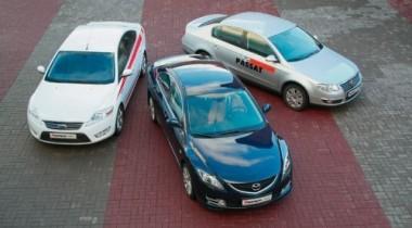 Mazda6 vs Ford Mondeo и VW Passat. Суд да дело