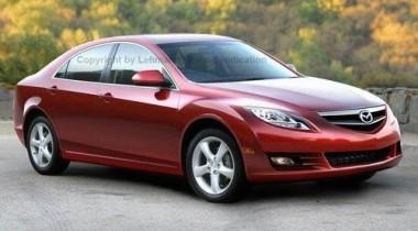 Первые изображения новой Mazda6