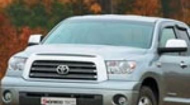 Toyota Tundra. По улицам слона водили
