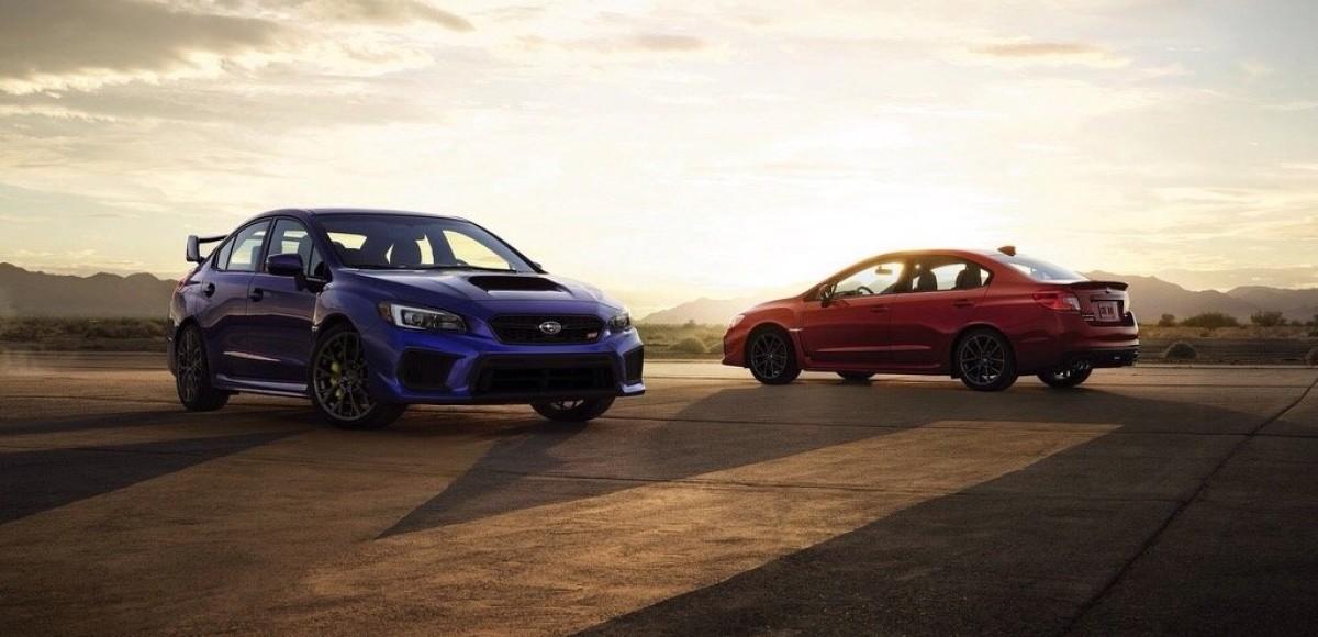Subaru WRX: снова в продаже