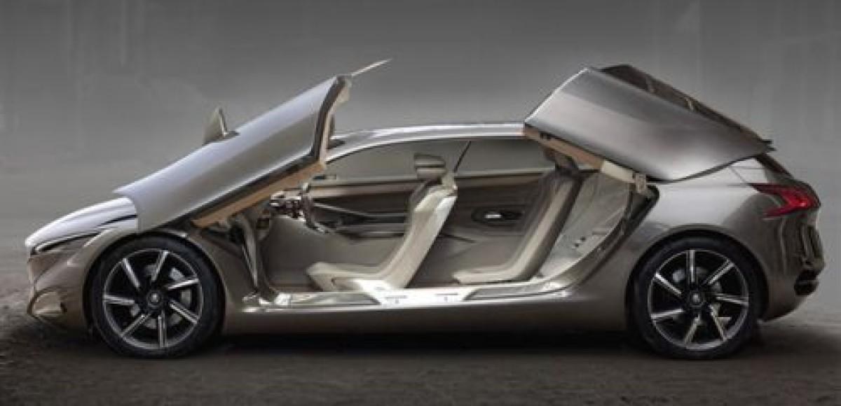 Во Франкфурте Peugeot представит концептуальный автомобиль HX1